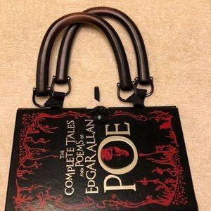 Handbags - Edgar Allen Poe book handbag